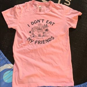 I don't eat my friends t shirt